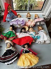 Vintage Madame Alexander Doll Lot