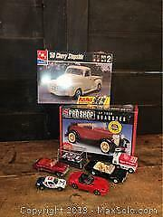 Model Car Kits And Collectible Cars