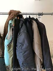 Winter Coats, Garment Rack And More A