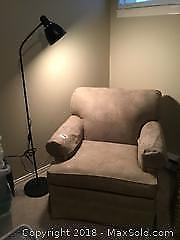 Chair and Lamp B
