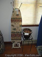 Ironing Board With Planters A