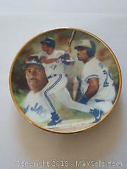 Toronto Blue Jays Joe Carter Limited Ed Numbered Plate 235