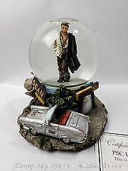 James Dean Musical Water Globe 5 inches Plays Yesterday.