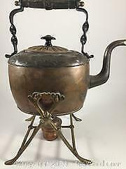 Early 1900s Tilting Copper Teapot
