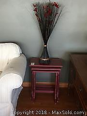 Nesting Tables And Decor B