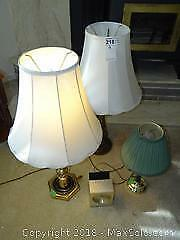 Lamps And Clock A