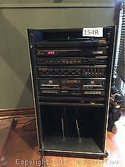 Sanyo Home Stereo with 2 large speakers