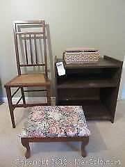 Foot Stool Chair And More B