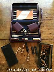 Backgammon and Chess Sets