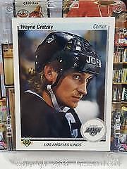 1990-91 Upper Deck Wayne Gretzky Promo Hockey Card