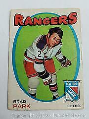 1971-72 OPC Brad Park Hockey Card
