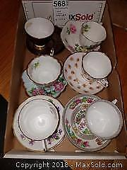 Teacups and Saucers A