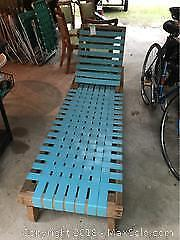 Hand Made 2 By 4 Lounger -C