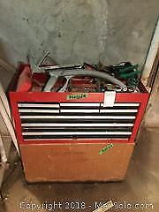 Tool Chest And Contents, Bench B