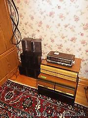 Vintage Radio and CD DVD Holders A