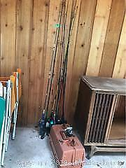 Vintage Fishing Collection -A