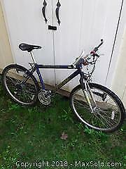 "Blue 19"" Men's Bike B"