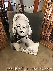 Marilyn Monroe Canvas B