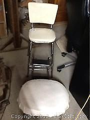 Two Step Chair And Stool