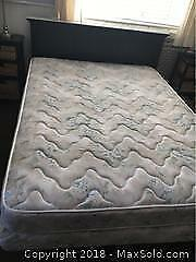Queen Size Mattress and Split Box Spring C