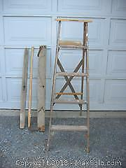 5 Foot Step Ladder No 1 , A