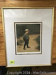 Paul Peel Print Of Young Boy A