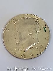 1964 JFK USA Silver Half Dollar Coin