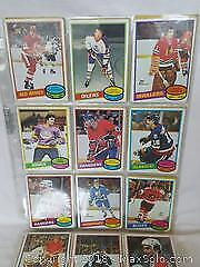 1980-81 OPC Hockey card Part Set Lot 185 Different