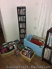 LPs, DVDs, CDs and Tapes A