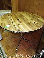 Faux Wood Table B