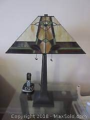 Tiffany Style Table Lamp A