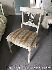 Painted Distressed Chair B