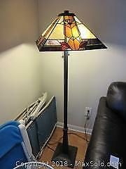 Tiffany Style Standing Lamp A