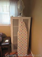 Storage Cabinet Ironing Board And Fan C