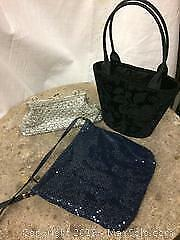 Three vintage evening bags