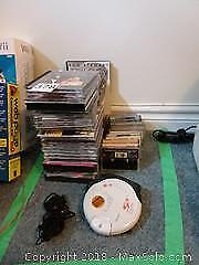 CDs, CD Player and Casettes A