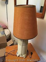 Rocket Radio Lamp