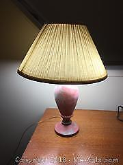 Vintage Pottery Table Lamp A