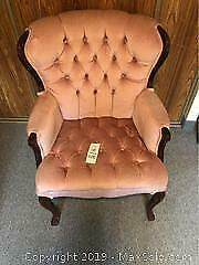 Rose Coloured Chair