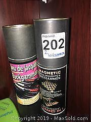 Two New Backgammon Magnetic Games B