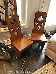Two Pine Kids Chairs A