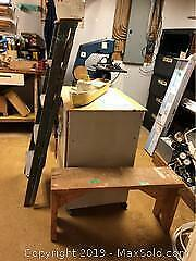 Wooden Ladder, Bench, Boat And More C