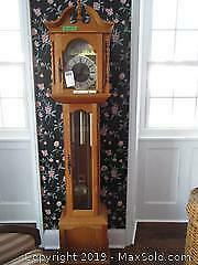 Grandfather Clock. B