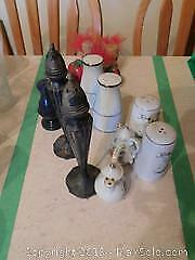 Salt and Pepper Shakers A