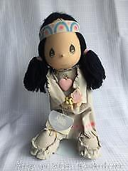 Precious Moments Plush Collector Doll with Stand - Pocahontas