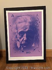 Carl Beam Einstein MO Silkscreen Print