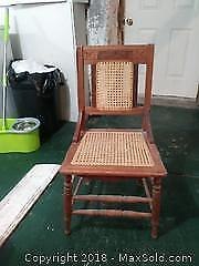 Older Wooden Chair. A