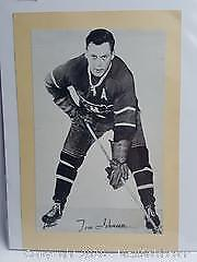 Vintage Bee Hive Corn Syrup picture of Tom Johnson Montreal Canadiens