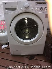 Lg dryer and washer