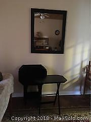 Decorative Mirror And Tv Trays